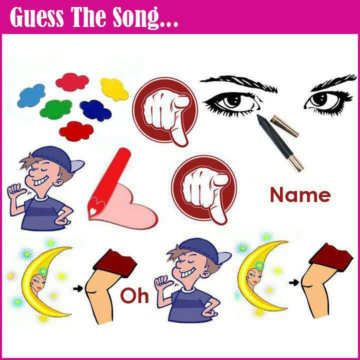 Guess the song from symbols