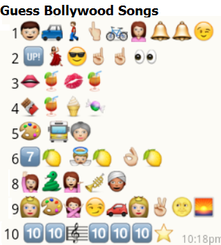 whatsapp guess bollywood songs puzzle 7. Black Bedroom Furniture Sets. Home Design Ideas