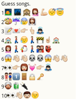 Emoji Bollywood Song Quiz With Answers Zona Ilmu 9 Enjoy from over 30 lakh hindi, english, bollywood, regional, latest, old songs and more. emoji bollywood song quiz with answers