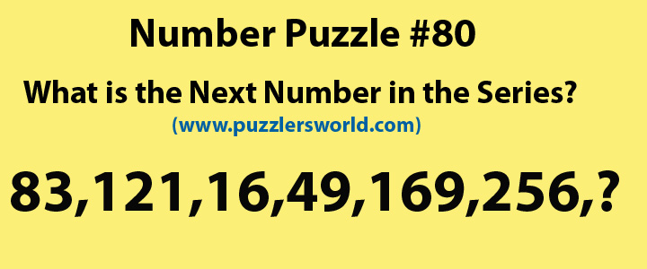 Number Series Puzzles