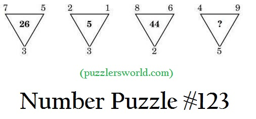 Number Puzzle 123