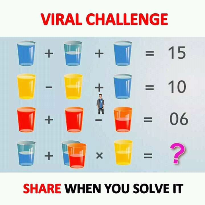This is a photo of Impeccable Math Challenge Puzzles
